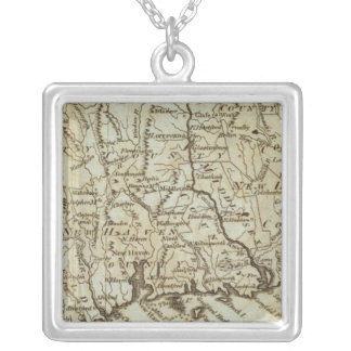 Connecticut 7 personalized necklace