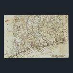 "Connecticut 7 placemat<br><div class=""desc"">Connecticut. By Carey,  Mathew (179). Published by &#39;&#39;Philadelphia: Lang and Ustick&#39;&#39;.</div>"