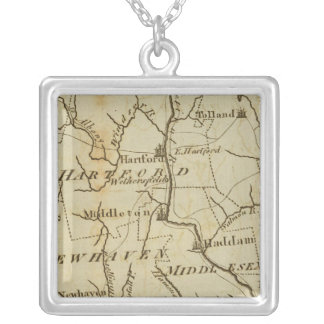 Connecticut 8 personalized necklace