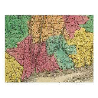 Connecticut 9 postcard