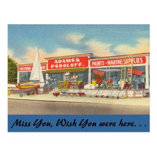 Connecticut, Adams & Podoloff Supplies Postcard