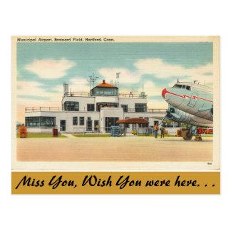 Connecticut, aeropuerto municipal, Hartford Postal
