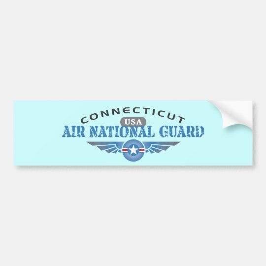Connecticut Air National Guard Bumper Sticker