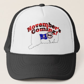 Connecticut Anti ObamaCare – November's Coming! Trucker Hat
