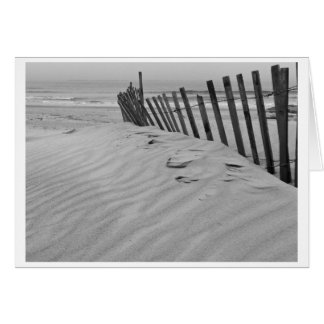 Connecticut beach greeting card