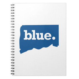 CONNECTICUT BLUE STATE SPIRAL NOTEBOOK