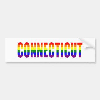 Connecticut Car Bumper Sticker