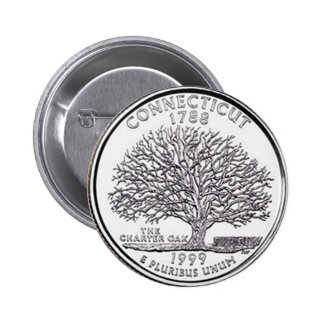 Connecticut Button