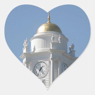 Connecticut Capital Heart Sticker