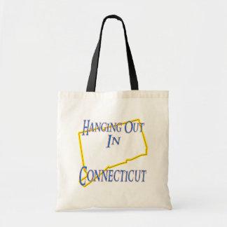 Connecticut - colgando hacia fuera bolsas