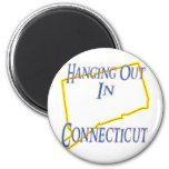 Connecticut - colgando hacia fuera imanes