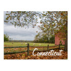 Connecticut Country Farm Postcard