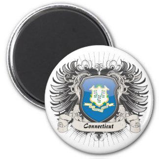 Connecticut Crest Refrigerator Magnet