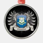 Connecticut Crest Ornament