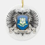 Connecticut Crest Ornaments