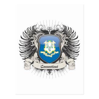 Connecticut Crest Postcard