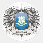 Connecticut Crest Stickers
