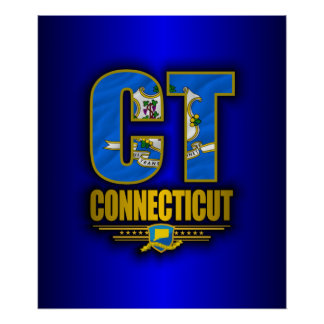 Connecticut (CT) Poster