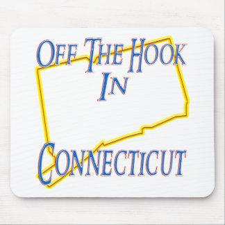Connecticut - del gancho tapetes de ratón