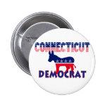 Connecticut Demócrata Pins