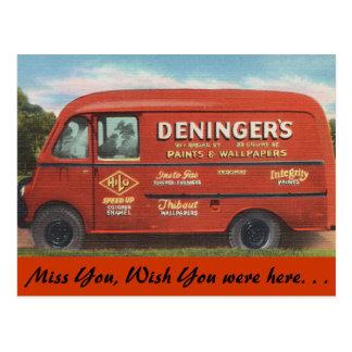 Connecticut, Deninger's Paint & Wallpaper Post Cards