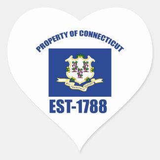 Connecticut design sticker