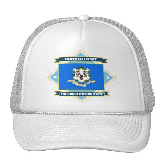 Connecticut Diamond Trucker Hat