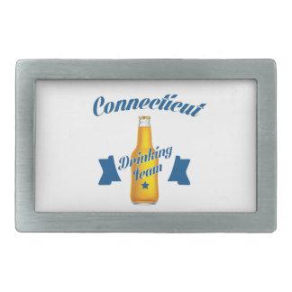 Connecticut Drinking team Belt Buckle