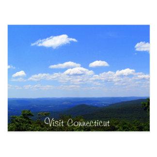Connecticut elevó tarjetas postales