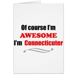 Connecticut es impresionante tarjeta de felicitación
