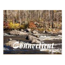 Connecticut Fall River Postcard