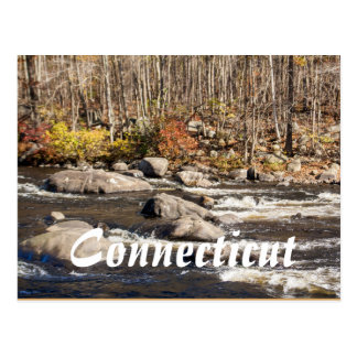 Connecticut Fall River Postcard