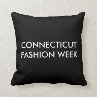 Connecticut Fashion Week Novelty Pillow