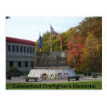 Connecticut Firefighter's Memorial Postcards