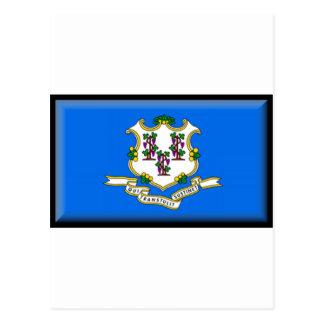 Connecticut Flag Postcard