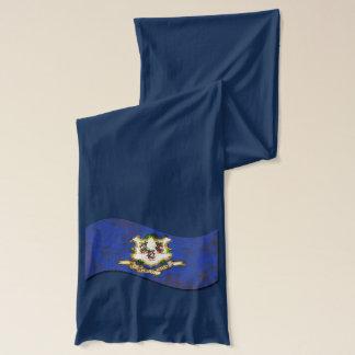 CONNECTICUT FLAG SCARF