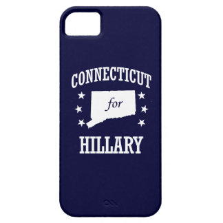 CONNECTICUT FOR HILLARY iPhone 5 CASES