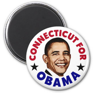 Connecticut For Obama Magnet