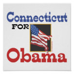 Connecticut for Obama Print