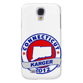 Connecticut Fred Karger Galaxy S4 Covers