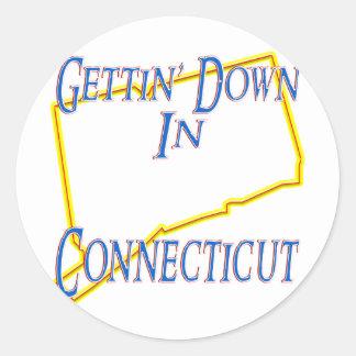 Connecticut - Gettin' Down Stickers