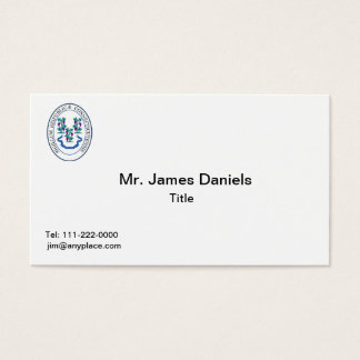 Connecticut Great Seal Business Card