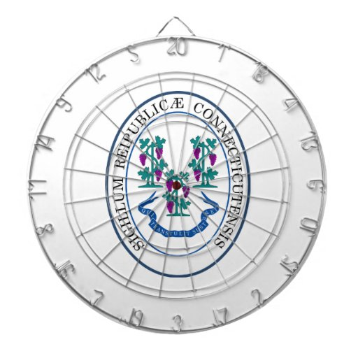Connecticut Great Seal Dart Boards