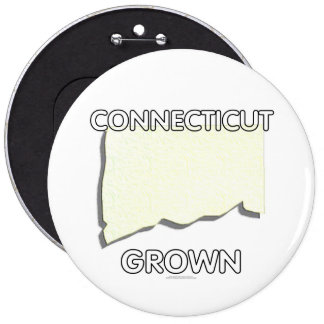 Connecticut Grown Button