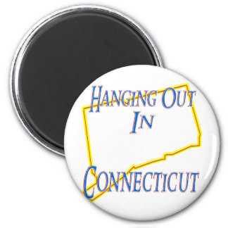 Connecticut - Hanging Out Magnet