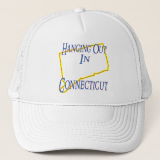 Connecticut - Hanging Out Trucker Hat