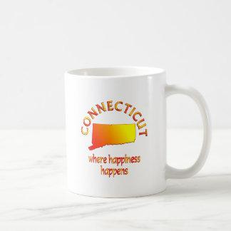 CONNECTICUT Happiness Mug