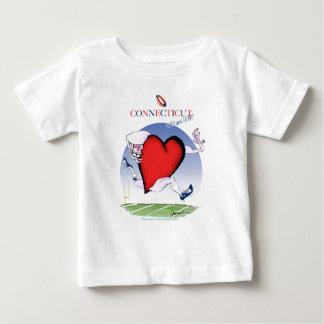 connecticut head heart, tony fernandes baby T-Shirt