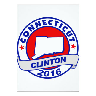 connecticut Hillary Clinton 2016.png Card