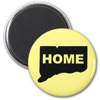 Connecticut Home Away From State Fridge Magnet